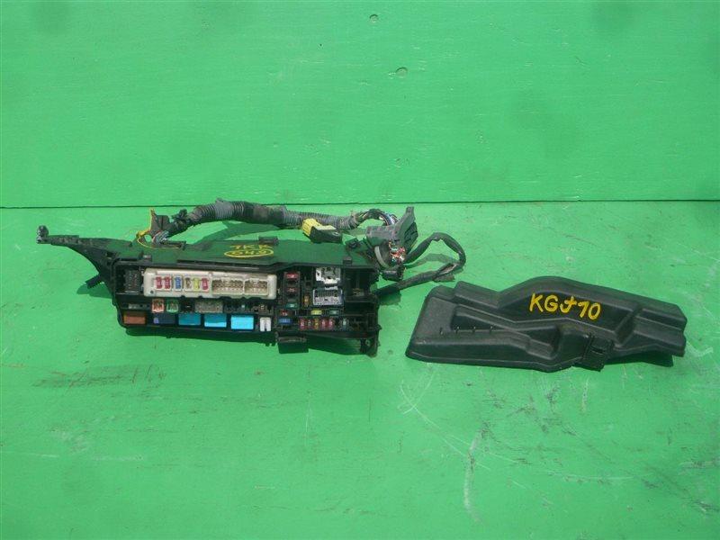 Блок предохранителей Toyota Iq KGJ10 1KR-FE