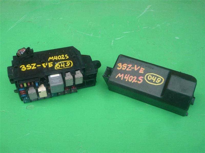 Блок предохранителей Toyota Bb QNC20 3SZ-VE 1543352