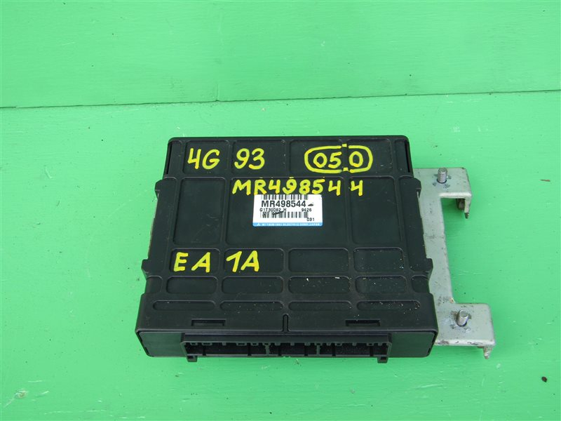 Блок управления efi Mitsubishi Galant EA1A 4G93 MR498544