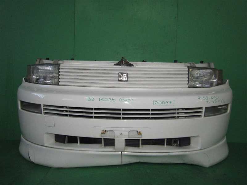 Nose cut Toyota Bb NCP30 1NZ-FE 02.2000 52-032, 52-033