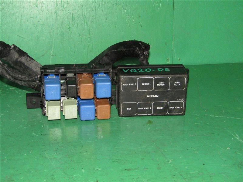 Блок предохранителей Nissan Cefiro A32 VQ20DE левый