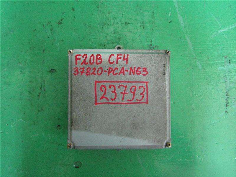 Блок управления efi Honda Torneo CF4 F20B 37820-PCA-N63
