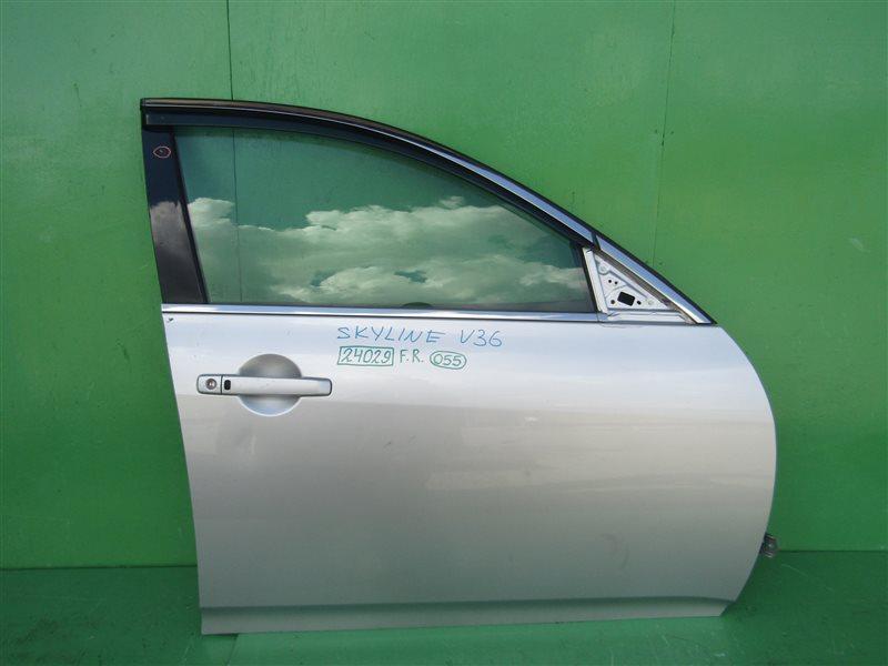 Дверь Nissan Skyline V36 передняя правая