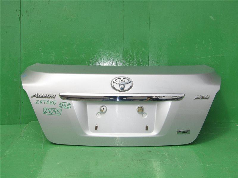 Крышка багажника Toyota Allion NZT260