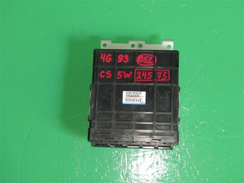 Блок управления efi Mitsubishi Lancer Cedia CS5A 4G93 GDI 1860A422
