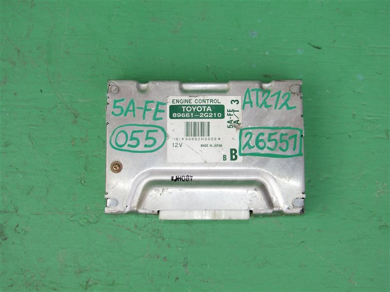 Блок управления efi Toyota Carina AT212 5A-FE