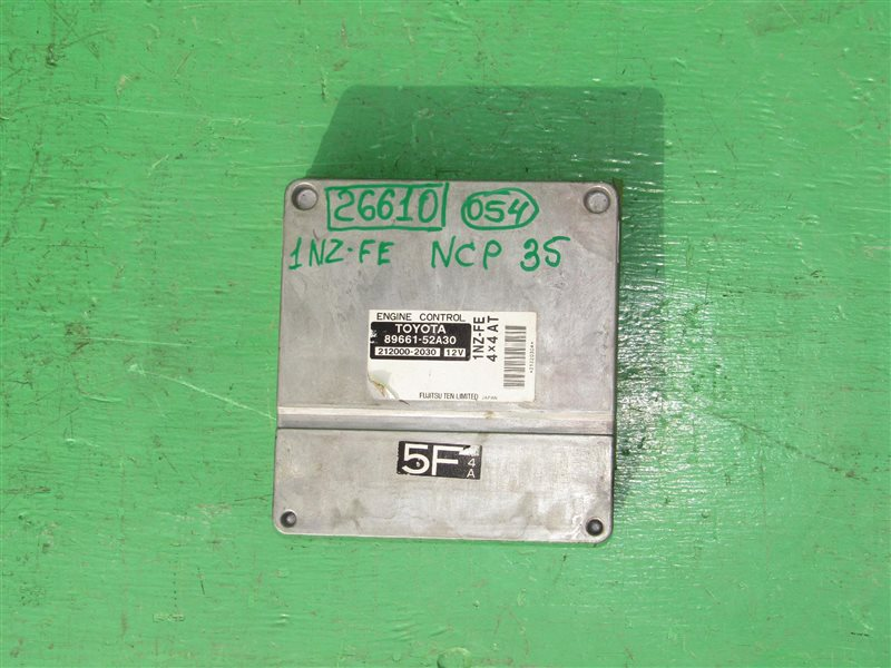 Блок управления efi Toyota Bb NCP35 1NZ-FE
