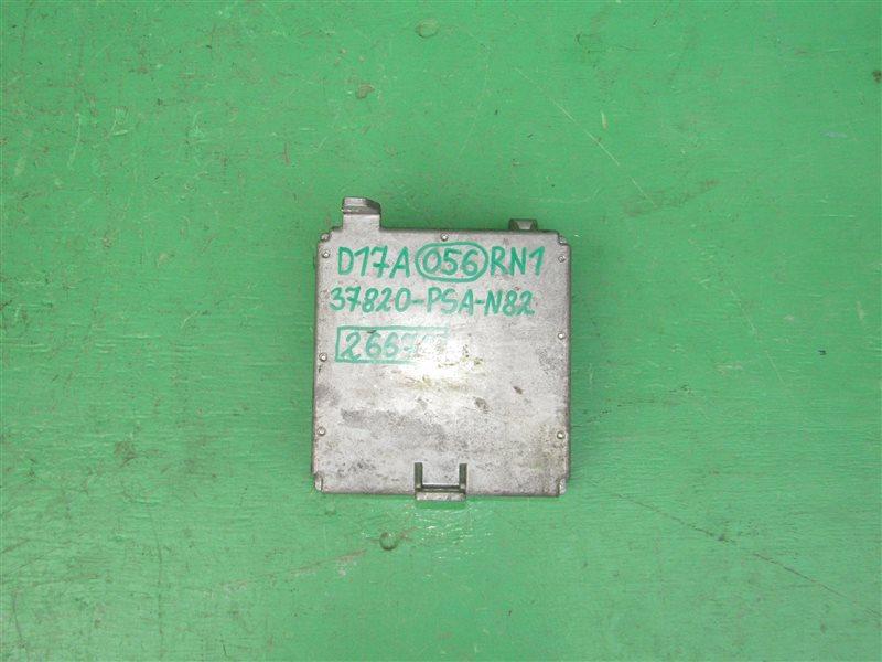Блок управления efi Honda Stream RN1 D17A 37820-PSA-N82