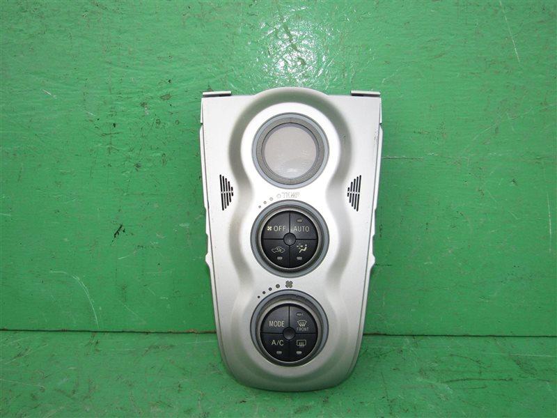 Блок управления климат-контролем Toyota Vitz SCP90
