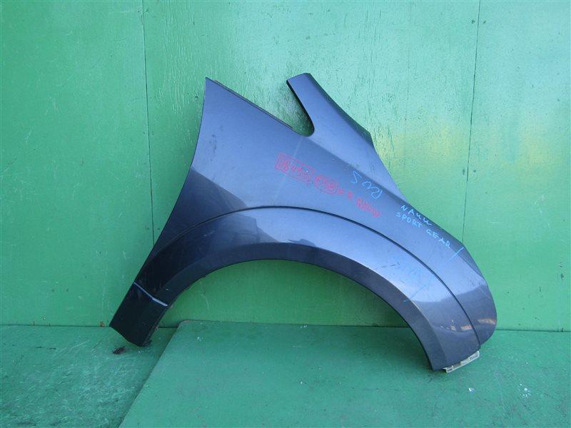 Крыло Mitsubishi Grandis NA4W переднее правое