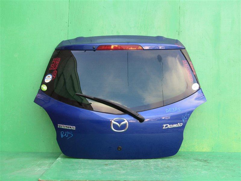 Дверь задняя Mazda Demio DE3FS