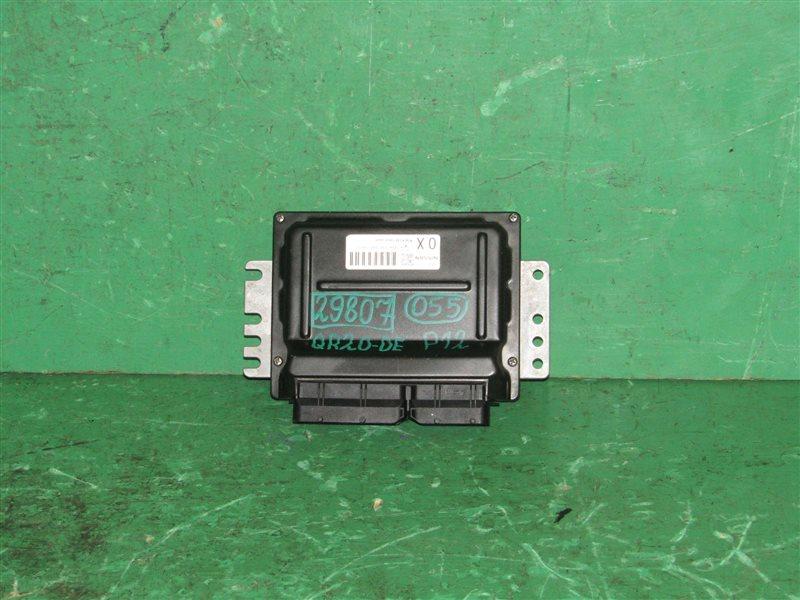 Блок управления efi Nissan Primera TP12 QR20DE A56-T12 C40 2X21