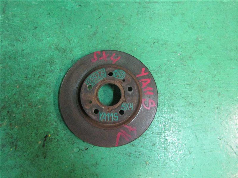 Тормозной диск Suzuki Sx4 YA11S M15A передний 55311-80J01, 55311-80J02, 55311-80J03