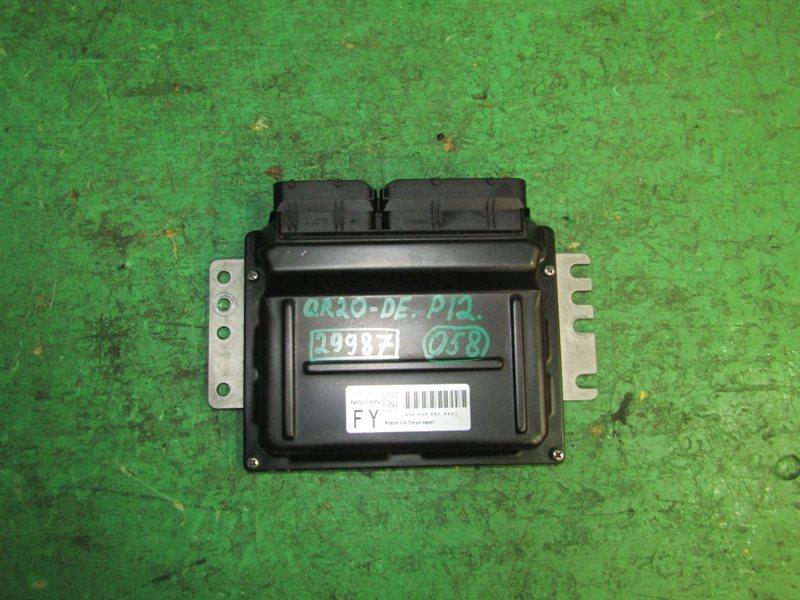 Блок управления efi Nissan Primera TP12 QR20DE A56-V30 C51 4402
