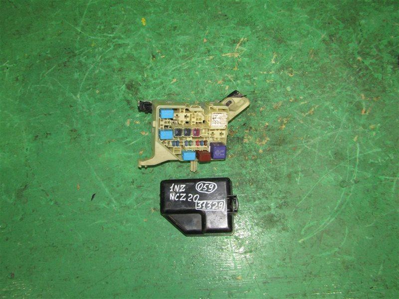 Блок предохранителей Toyota Raum NCZ20 1NZ-FE