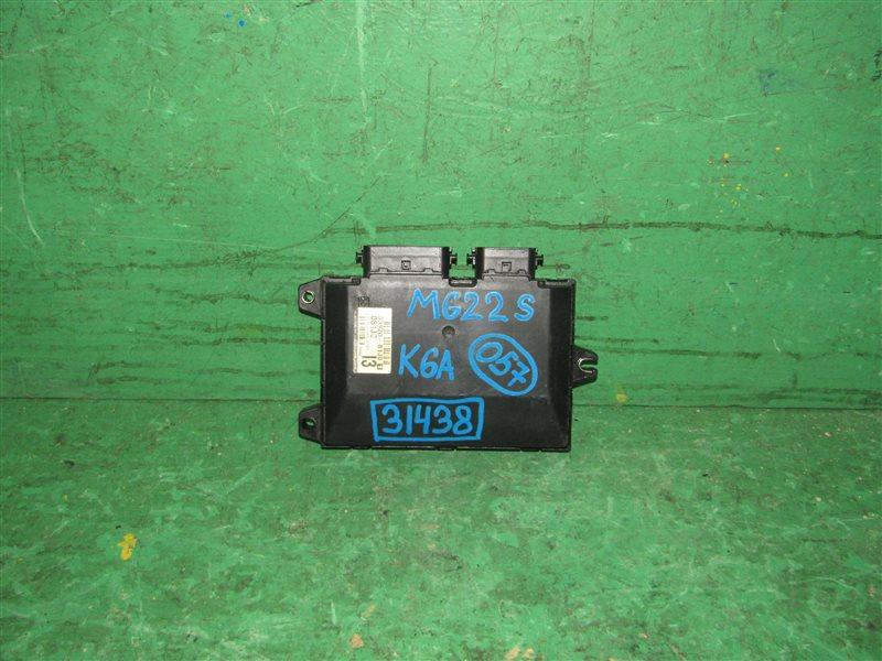 Блок управления efi Nissan Moco MG22S K6A 33920-81J01