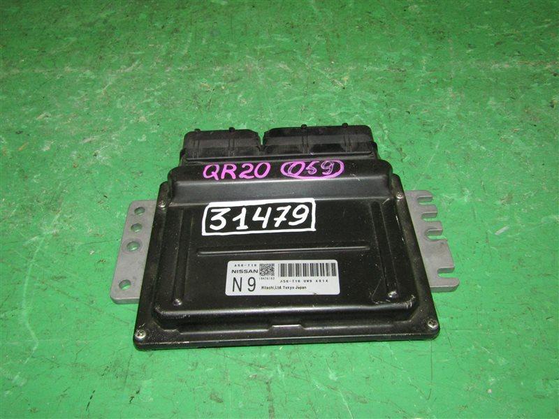 Блок управления efi Nissan Liberty RM12 QR20DE A56-T16 UW9