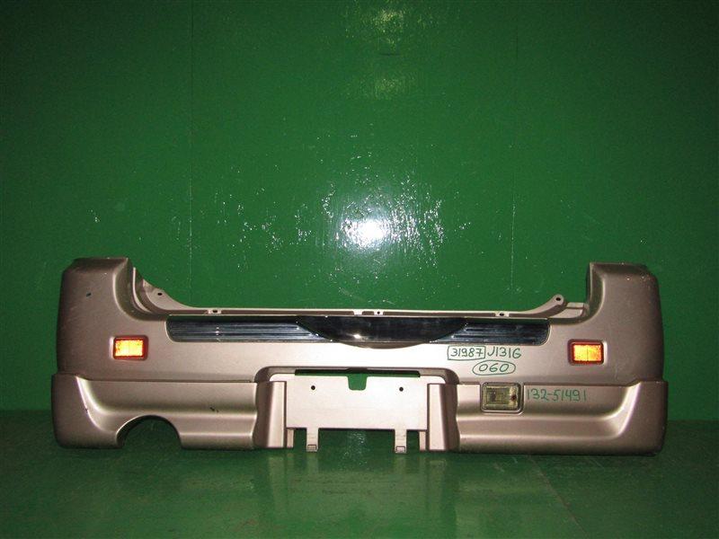 Бампер Daihatsu Terios Kid J111G задний
