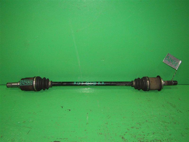 Привод Honda Cr-V RD5 K20A задний правый