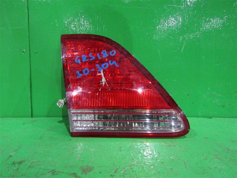 Вставка багажника Toyota Crown GRS180 задняя левая 30-304