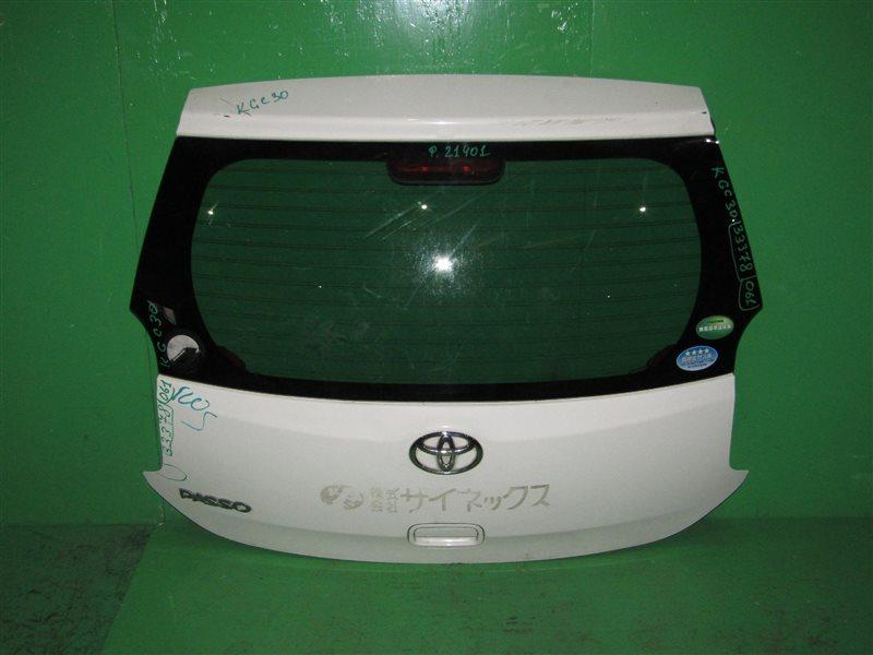 Дверь задняя Toyota Passo KGC30
