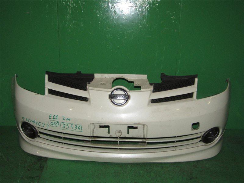 Бампер Nissan Note E11 01.2005 передний