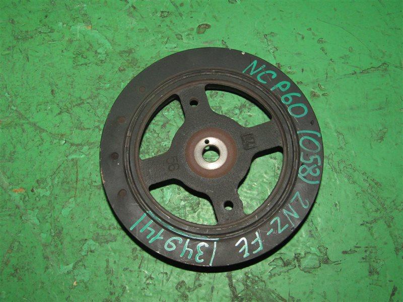 Шкив Toyota Ist NCP60 1NZ-FE 13407-21020