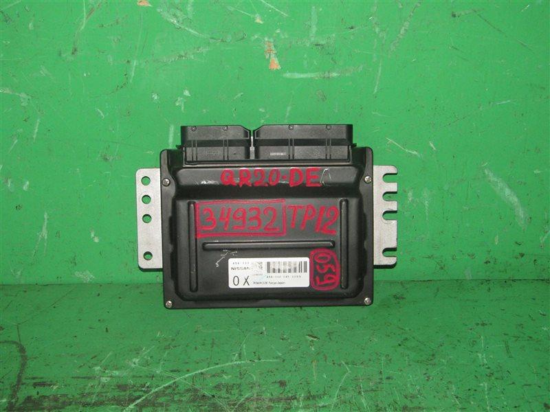 Блок управления efi Nissan Primera TP12 QR20DE A56-T12 C45