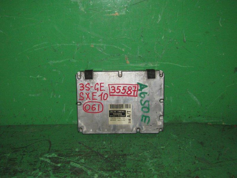 Блок управления efi Toyota Altezza SXE10 3S-GE 89661-53080