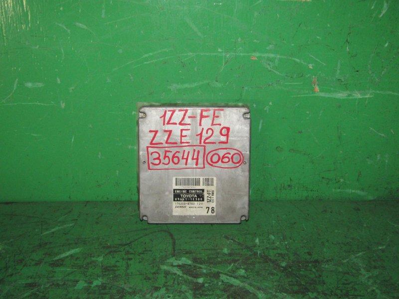 Блок управления efi Toyota Will Vs ZZE129 1ZZ-FE 89661-1E380