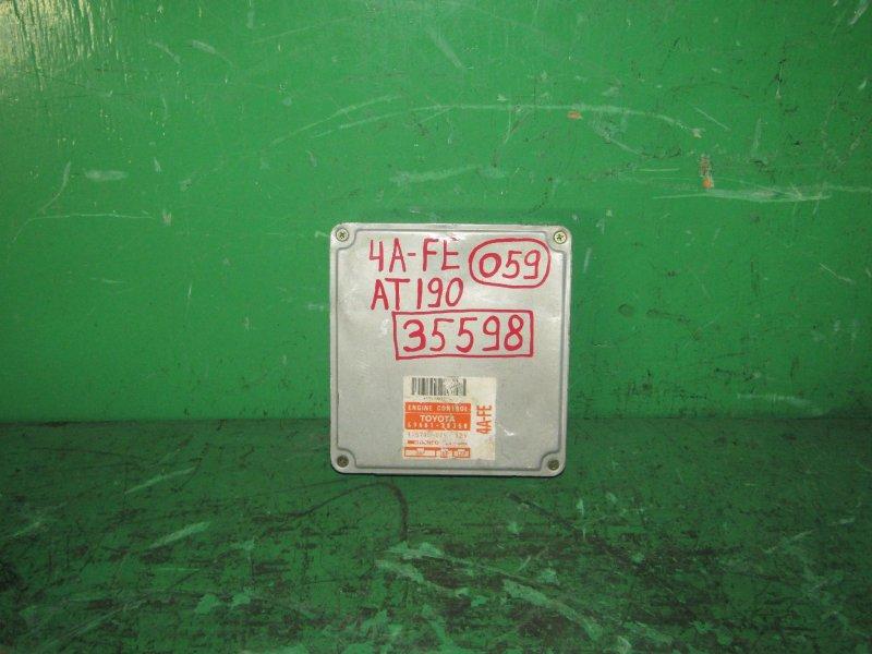 Блок управления efi Toyota Corona AT190 4A-FE 89661-2B350