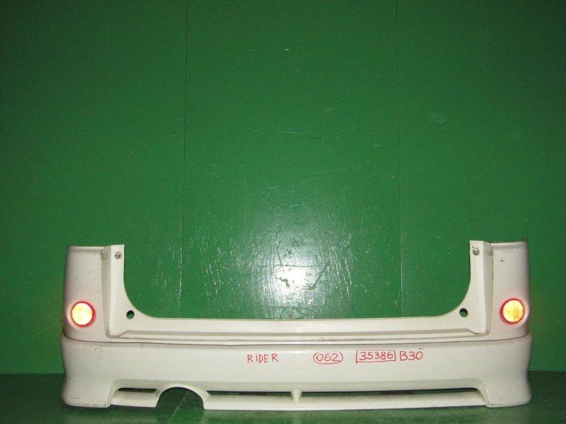 Бампер Nissan Lafesta B30 задний