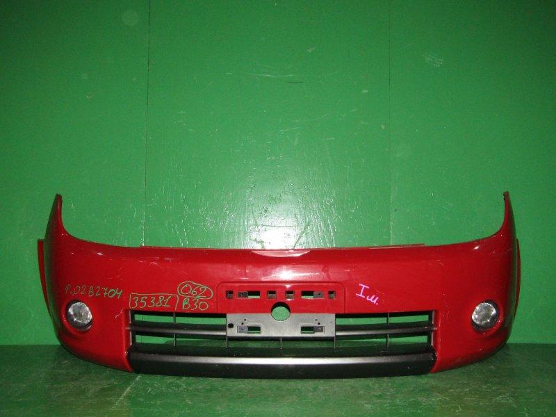 Бампер Nissan Lafesta B30 12.2004 передний 02B2704