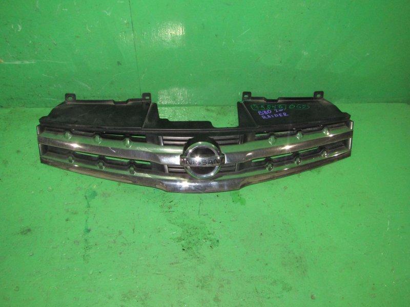 Решетка радиатора Nissan Lafesta B30 05.2007
