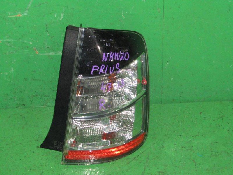 Стоп-сигнал Toyota Prius NHW20 задний правый 47-13