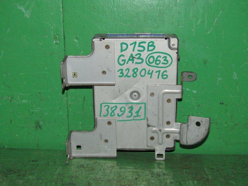 Блок управления efi Honda Logo GA3 D13B 28100-PEJ-317