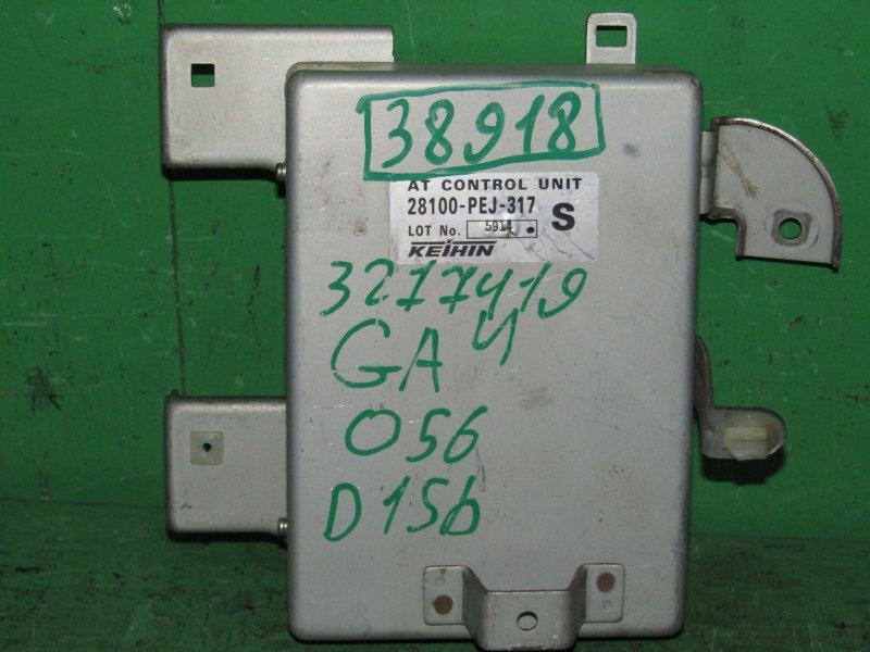 Блок управления автоматом Honda Capa GA4 D15B 28100-PEJ-317