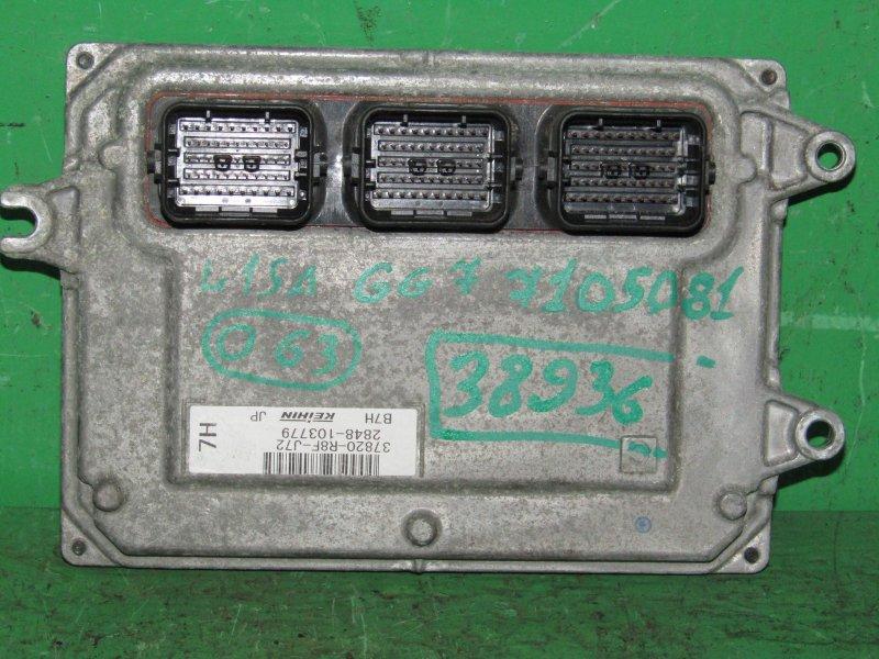 Блок управления efi Honda Fit Shuttle GG7 L15A 37820-P8F-J72