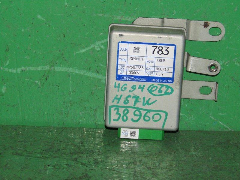Блок управления дроссельной заслонкой Mitsubishi Pajero Io H67W 4G94 GDI