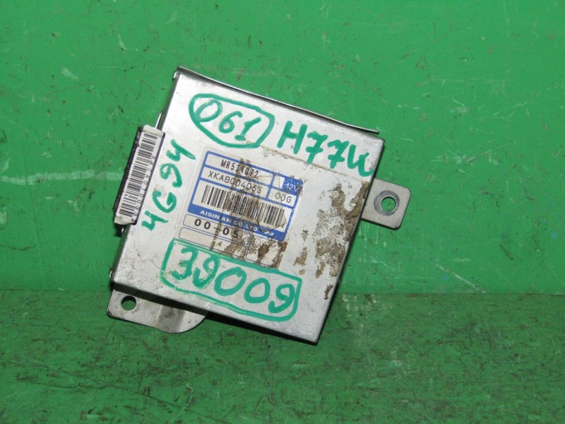 Блок управления автоматом Mitsubishi Pajero Io H67W 4G94 GDI MR534072