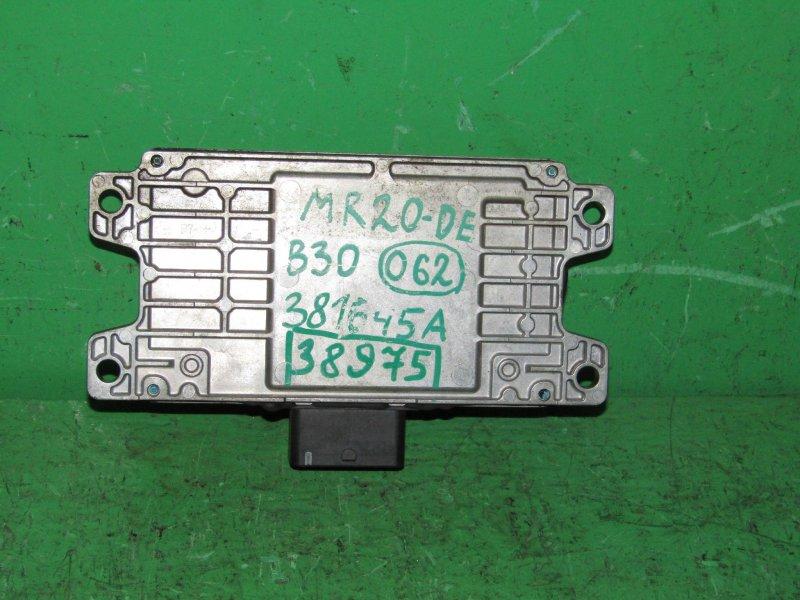 Блок управления автоматом Nissan Lafesta B30 MR20DE