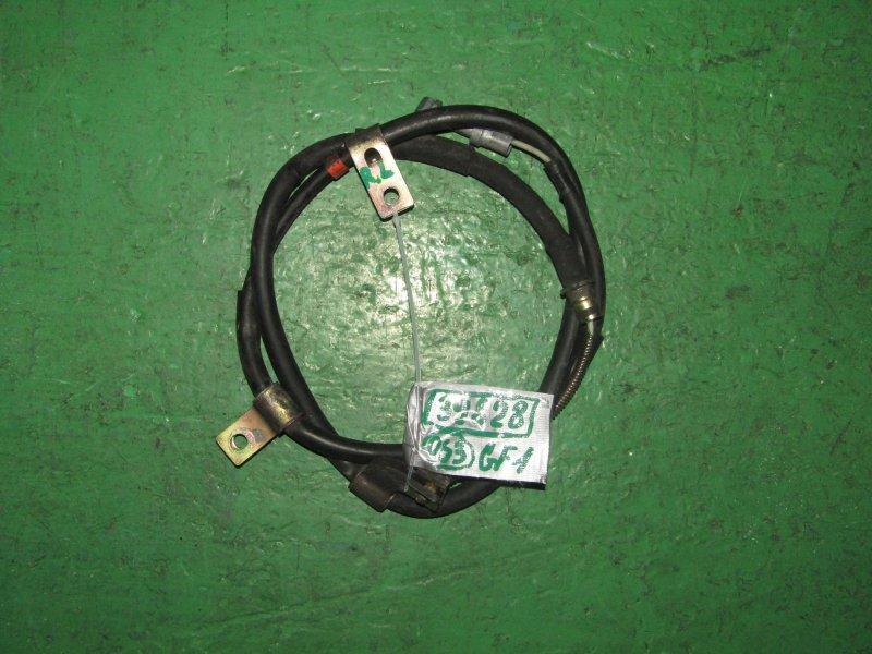 Тросик ручника Subaru Impreza GF1 задний левый
