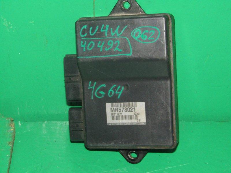 Блок управления форсунками Mitsubishi Airtrek CU4W 4G64