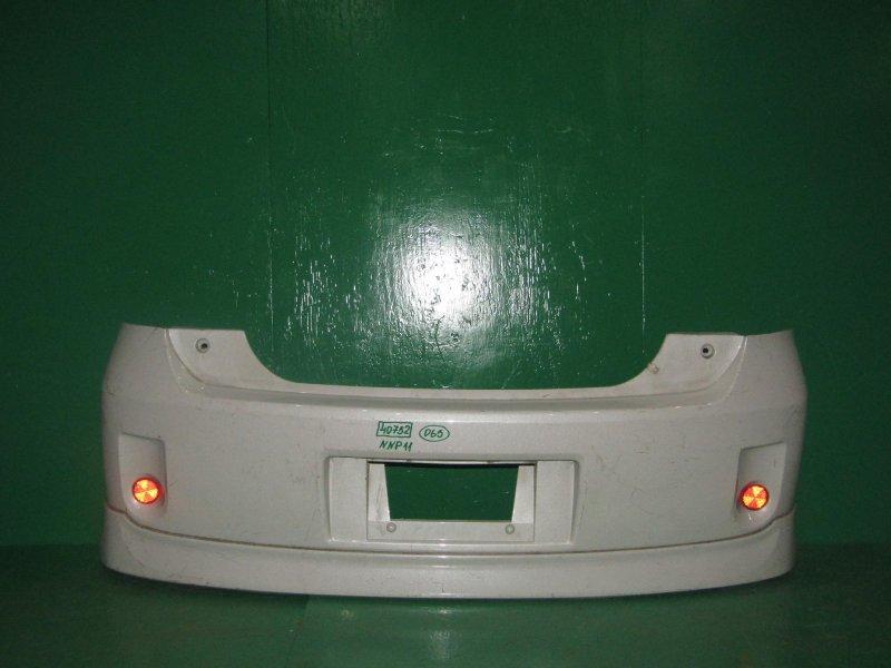 Бампер Toyota Porte NNP11 задний
