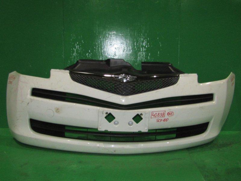 Бампер Toyota Ractis SCP100 передний