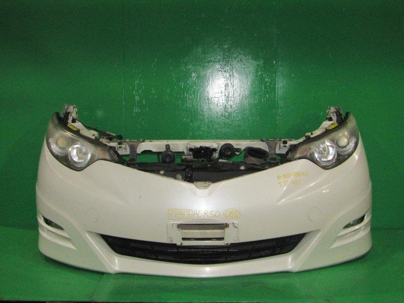 Nose cut Toyota Estima ACR50 2AZ-FE 01.2006 28-192, 12-495