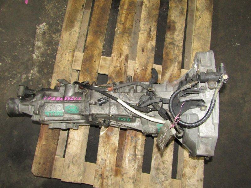 Мкпп Subaru Forester SG5 EJ205 TY755VB7AA