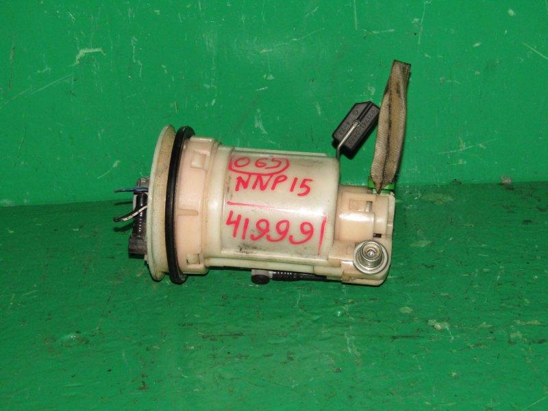 Топливный насос Toyota Porte NNP15 1NZ-FE