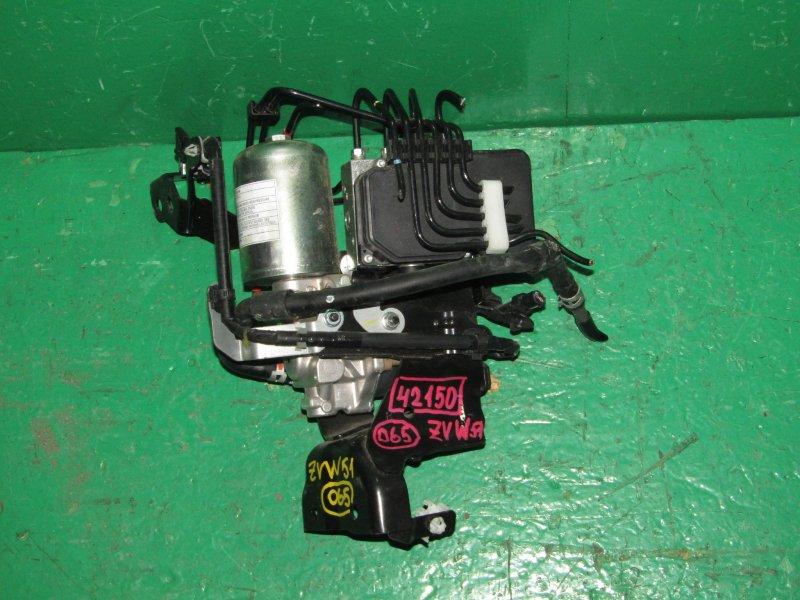 Блок управления abs Toyota Prius ZVW51 2ZR-FXE 44510-47070