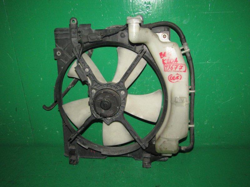Диффузор радиатора Honda Edix BE3 K20A левый